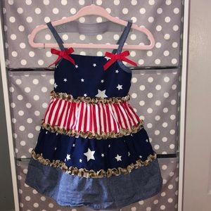 Bonnie Baby American Flag 🇺🇸 Dress
